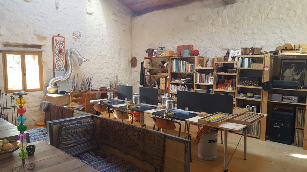 Atelier in Frankrijk